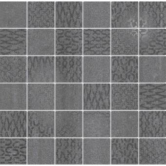 Керамогранит DD2009\MM | Декор Про Дабл антрацит мозаичный