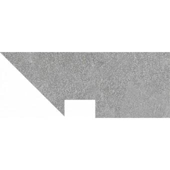 Керамогранит DD2004\BSL\DV | Плинтус вертикальный правый Про Стоун серый