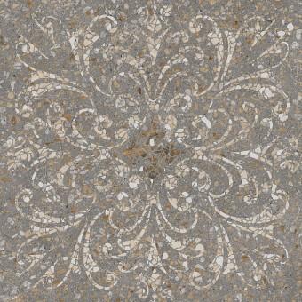 Керамогранит SG632300R | Терраццо коричневый декорированный обрезной