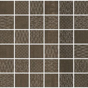Керамогранит DD2013\MM | Декор Про Дабл коричневый мозаичный