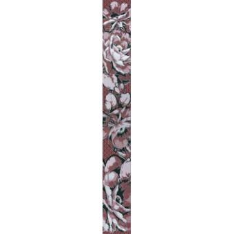 Бордюр Аллегро бордовый (56-03-47-100-1) 5х40